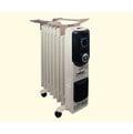 嘉儀德國HELLER葉片式電暖器 8片式陶瓷送風+烘衣架 KE208TF