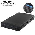 【可超商取貨】銀欣 SilverStone RVS02 USB3.0 2.5吋硬碟外接盒(SST-RVS02) [烏鴉燈號超吸睛]~免運刷卡價!!