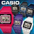 CASIO 時計屋 卡西歐手錶 W-215H -1A/8A /7A 男錶 電子錶 橡膠錶帶 LED照明 鬧鈴