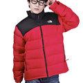 【山水網路商城】THE NORTH FACE 男 700FILL 保暖羽絨外套 羽絨衣 紅/黑 AUFD