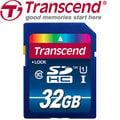 【強越電腦】Transcend 創見 32G SDHC Class 10 UHS-I 高速記憶卡(大卡)