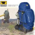 【美國 MountainSmith】《↘下殺6折》 男 Lariat 65 Pack全方位重裝省力健行登山背包,自助旅行子母包(非Gregory,Osprey, Deuter)/午夜藍