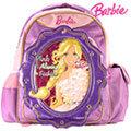 芭比Barbie 繽紛立體護脊書包C-紫 (BLA270274A)