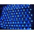 可串聯網燈~150*150cm 共144顆5mm高亮度LED!裝飾聖誕樹燈,可防水~贈8段跳機