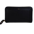 【全新現貨 優惠中】CHLOE 3P0388 最新版Paraty Zip Wallet 全皮革拉鍊長夾.黑現金價$16,800
