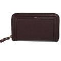 【全新現貨 優惠中】CHLOE 3P0388 最新版Paraty Zip Wallet 全皮革拉鍊長夾.深咖現金價$16,800