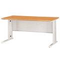 【總務班長】4尺SCD木紋色辦公桌Y93-15(免運費)(台灣製)