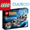 ::bonJOIE:: 美國進口 LEGO 樂高 回到未來 時光機 21103 The DeLorean Time Machine Building Set (全新盒裝)