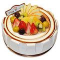 【千家軒】精緻生日蛋糕-巧克力情人6吋 (巧克力蛋糕體+水果+黑櫻桃粒)