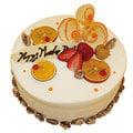 【千家軒】精緻生日蛋糕-愛的獻禮6吋 (巧克力蛋糕體+水果+藍莓)