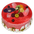 【千家軒】精緻生日蛋糕-梅果6吋 (巧克力蛋糕體+水果+藍莓)