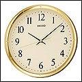 【滾石鐘錶】SEIKO精工 塑膠外殼 滑動式秒針 安靜無聲 簡約時尚掛鐘 (原廠公司貨)型號:QXA417G