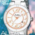 CASIO時計屋 SEIKO ALBA手錶 AH7565X1 奢華金色狂潮不鏽鋼女錶 保固附發票