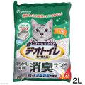日本UNICHARM嬌聯8348消臭抗菌球砂貓砂 2L ~雙層貓砂盆專用每月替換即可