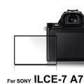 yardiX代理【LARMOR 防爆玻璃靜電吸附相機保護貼-SONY ILCE-7 A7專用】硬度8H 日本光學材質