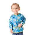 ★MerryGoAround★ Bumkins Sleeves Bib: Disney: 美國長袖防水圍兜: MonstersBlue: 怪獸大學藍: BK-SUDMS70
