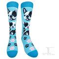 【JHJ DESIGN】台灣精品 100%MIT 中統襪/綿襪/針織襪/小腿襪/動物襪 可愛狗狗系列