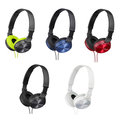 【電子超商】 SONY MDR-ZX310AP 摺疊耳罩式耳機 五色 輕巧 方便收納 潮流色彩
