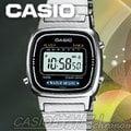 CASIO 時計屋 電子錶 LA670WA -1 (LA-670WA) 復古方形 電子女錶 防水 全新 保固一年 附發票