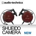 集英堂写真機【全國免運】AUDIO-TECHNICA 鐵三角 ATH-EW9 耳掛式耳機 原木棕色