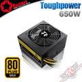 [ PC PARTY ] 曜越 Thermaltake Toughpower 650W GOLD 金牌 日系電容 電源供應器 (中壢、台中、高雄)
