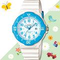 CASIO 手錶專賣店 LRW-200H-2B 女錶 兒童錶 防水100米 日期 可旋轉錶圈 膠質錶帶