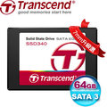 創見 340系列固態硬碟 TS64GSSD340 64GB 2.5吋7mm SATAIII SSD