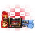 【Bullsone 勁牛王】韓國原裝頂級車漆皮革保養5件組(頂級金鑽蠟+精品皮革乳+超細纖維布)