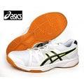 【asics亞瑟士】GEL-UPCOURT 輕量 膠底 排羽球鞋 /白黑 B400N-0190 A-707
