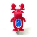 全新麋鹿造型 SWIFF 夾式調音器/烏克麗麗調音器/吉他調音器(紅色)