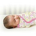 美國Summer Infant SwaddleMe - 純棉 懶人嬰兒包巾/可調式簡易包巾~小號~【繽紛花園】㊣原廠授權總代理公司貨