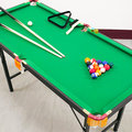 免運費$ 140X64升降折合型撞球台(含配件) C167-Y1403 (折疊撞球桌.撞球桿球杆.摺疊遊戲台遊戲桌遊戲機.球類運動用品推薦哪裡買)