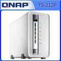 【刷卡分期免運 加送集線器或專用擦拭布-隨機】QNAP威聯通 TS-212P 2Bay網路儲存伺服器