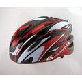 【GVR】17孔通風設計 GVR G103 追風-旋風系列-星燦紅 內搭抗菌防臭防蟲網軟墊 [G103JUM-R] 自行車安全帽