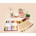 足勇 KOBARU 86001 陶瓷彩繪筆(10色組)(毛筆尖筆頭設計)~工藝彩繪創作的好幫手~