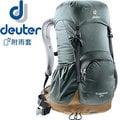 【Deuter】Zugspitze 24L網架直立式透氣背包 輕量健行背包/自助旅行背包客/雙肩後背包★滿額送好禮★3430116 灰/咖啡