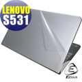 【EZstick】Lenovo ThinkPad S531 系列專用 二代透氣機身保護貼(含上蓋、鍵盤週圍)DIY 包膜