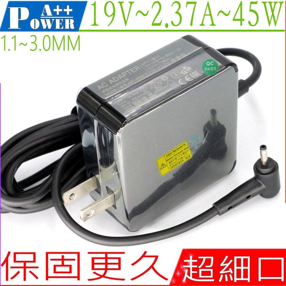 Asus變壓器(原廠)-華碩 19V, 2.37A, 45W,UX21,UX31,UX31E UX31K,UX32,UX42,UX21E,ADP-45AW A,N45W-01,EP121,B121,T..