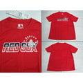 *新莊新太陽* MLB 大聯盟 5430208-150 波士頓 紅襪隊 圓領 印花 T恤 紅色可搭各式服裝 特價700