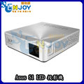 ASUS S1 輕巧便攜式 LED 短焦 投影機 (內建電池) 銀色 輕巧投影機 LED投影機