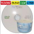 PLEXDISC DVD-R 16X / 4.7GB / 130MIN 空白光碟片 燒錄片 100片(50片裸縮2入)