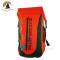 【Outdoor Active】暢銷款 WaterProof 500D 40L 專業壓縮防水背包/三用防水袋(雙肩式)隧道式散熱.適溯溪.浮潛.水上活動 (紅色) OA-WP01