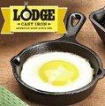 Lodge/鑄鐵鍋/荷蘭鍋/平底鍋 美國製 5吋鑄鐵小煎鍋/12.7cm H5MS/台北山水
