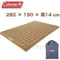 【美國 Coleman】300獨立筒帳棚充氣睡墊床+電動充氣馬達 套裝組.露營帳蓬充氣床.充氣墊/非歡樂時光..居家合室可用/CM-N608