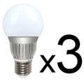 【綠視界】 7W 全周光 270度 LED節能燈泡 白光*三入組