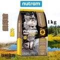【強棒寵物 火速出貨】紐頓 Nutram 貓飼料 【T22 無穀貓-火雞】 1kg