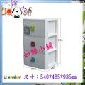 如歸小舖 KEYWAY聯府 SP-930 特大EQ深型三層收納櫃(附輪) ^新款^