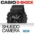 集英堂写真機【全國免運】CASIO 卡西歐 G-SHOCK GA-100-1A1JF GA-100-1A1 JF BIG CASE 系列 // 黑色 / 平輸 / 一年保固