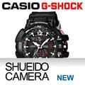 集英堂写真機【全國免運】CASIO 卡西歐 G-SHOCK GW-A1100-1AJF SKY COCKPIT 飛行錶系列 // 黑色 / 平輸 / 一年保固
