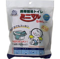 日本熱賣-迷你方便攜帶行動馬桶-3入一包